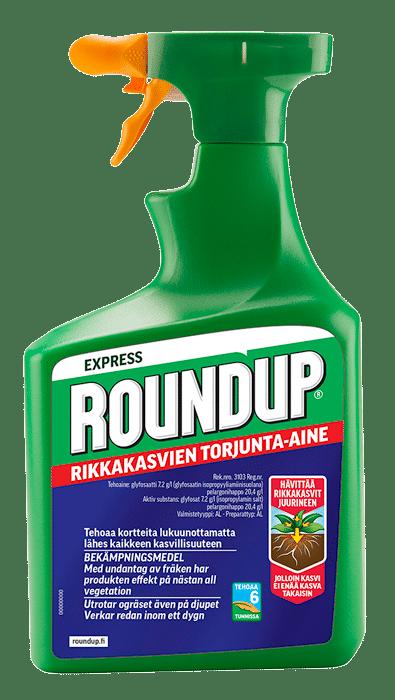 Roundup Käyttö