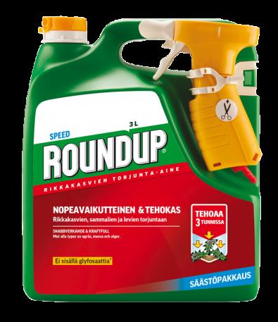 Roundup Speed 3L säästöpakkaus