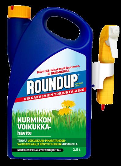 Roundup Nurmikon Voikukkahävite 2,5L