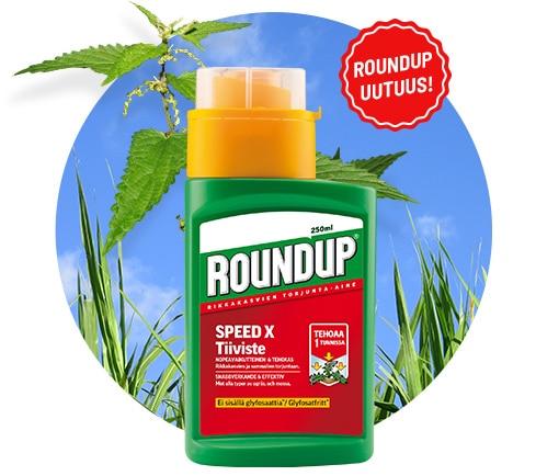 Roundup Speed X -tiiviste